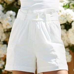 NWT Anthropologie Cinched Cargo Shorts
